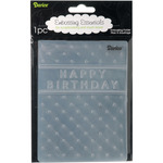 "Happy Birthday - Embossing Folder 4.25""X5.75"""