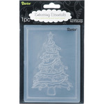 "Christmas Tree - Embossing Folder 4.25""X5.75"""