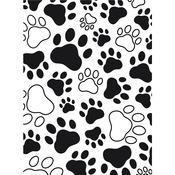 Paw Print Background - Embossing Folder