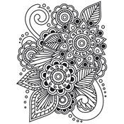 "Henna - Embossing Folder 4.25""X5.75"""