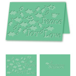 Holiday Holly - eBosser Embossing Folders A4 Size