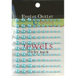 Blue - Bling Self-Adhesive Pearls Multi-Size 100/Pkg