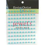 Blue - Bling Self-Adhesive Pearls 5mm 100/Pkg