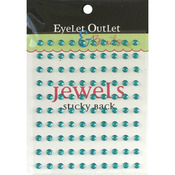 Blue - Bling Self-Adhesive Jewels 5mm 100/Pkg