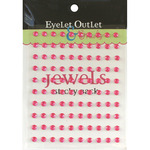 Pink - Bling Self-Adhesive Jewels 5mm 100/Pkg