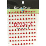 Red - Bling Self-Adhesive Jewels 5mm 100/Pkg