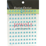 Turquoise - Bling Self-Adhesive Jewels 5mm 100/Pkg