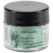 Jacquard Pearl Ex Powdered Pigments 3g - Emerald