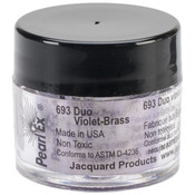 Duo Violet-Brass - Jacquard Pearl Ex Powdered Pigments 3g