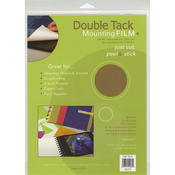 "Double Tack Mounting film 9""X12"" 3/Pkg-"