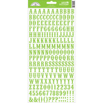 Limeade - Love Letters Cardstock Alphabet Stickers