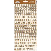 Bon Bon - Love Letters Cardstock Alphabet Stickers