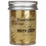 Gold - Stampendous Micro Glitter .67oz