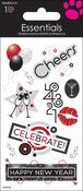 New Year Countdown - SandyLion Essentials Dimensional Stickers