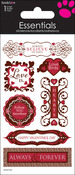 Happy Valentine's Day - SandyLion Essentials Dimensional Stickers