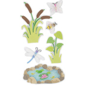 By The Pond - SandyLion Essentials Dimensional Stickers