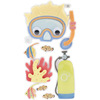 Scuba Adventure - SandyLion Essentials Dimensional Stickers
