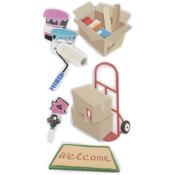 New Home - SandyLion Essentials Dimensional Stickers