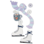 Ice Skating - SandyLion Essentials Dimensional Stickers