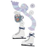 Ice Skating - SandyLion Essentials Dimensional Stickers