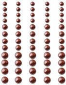 Chocolate Delight - Self-Adhesive Pearls