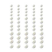 Snowflake - Self-Adhesive Pearls 60/Pkg