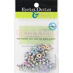 Spring 2 - Eyelet Outlet Quicklets Round 84/Pkg
