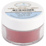 True Red - Elizabeth Craft Designs Silk Microfine Glitter 11g