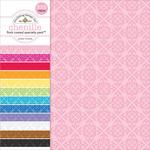 "Flocked Chenille - Doodlebug Specialty Cardstock Value Pack 12""X12"" 12/Pkg"