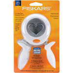 Heart X - Large Squeeze Punch - Fiskars