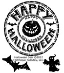 Halloween Seal - Technique Tuesday Clear Stamps