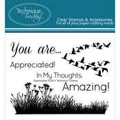 Appreciated - Technique Tuesday Clear Stamps