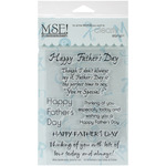 Father's Day - My Sentiments Exactly Clear Stamps