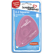Permanent - Scrapbook Adhesives E-Z Square Tabs 650/Pkg