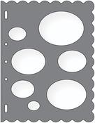 "Ovals - Shape Template 8.5""X11"""