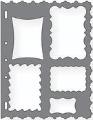 """Frames - Shape Template 8.5""""X11"""""""