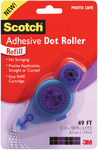 "Scotch Adhesive Dot Roller Refill-.31""X49',"