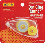 Repositionable Dot Glue Runner