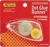 Repositionable Dot Glue Runner