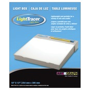 "LightTracer Light Box10""X12"""