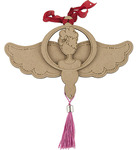 Angel Wood Ornament - Julie Nutting - Prima