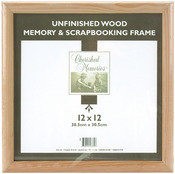 "Memory Frame 12""X12"" - Unfinished Wood"