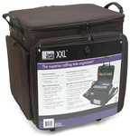 "XXL Crop In Style Rolling Tote - 20""X20""X16"" Black"