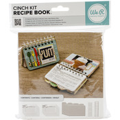 "Covers, Pages & Wire - Cinch Recipe Book Kit 6""X7"""