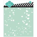 """Confetti - Heidi Swapp Stencil 6""""X6"""""""