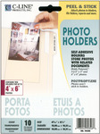 "Peel & Stick Photo Holders 4""X6"" 10/Pkg-"
