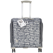 360 Crafter's Rolling Bag- Charcoal