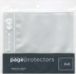 "Page Protectors Top - Loading 10/Pkg-(1) 6""X6"" Pocket"