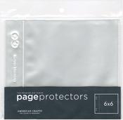 "Page Protectors Top - Loading 10/Pkg-(1) 6""X6"" Pocket"