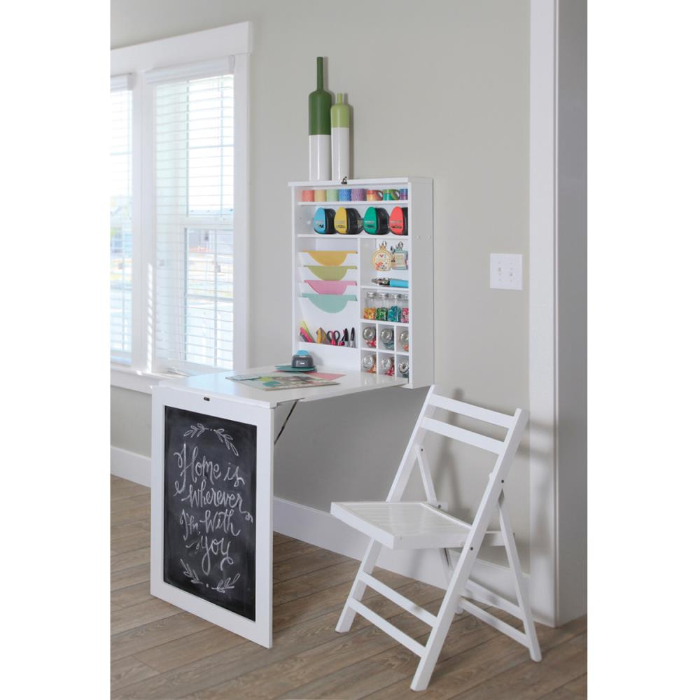 All Purpose Fold Down Table - White - We R Memory Keepers
